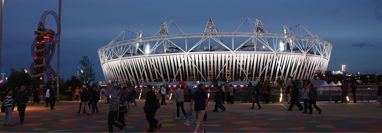 Orbit and Olympic stadium