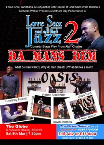 Love, Sax and all that Jazz poster